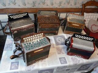 Cours d'accordéon diatonique en atelier