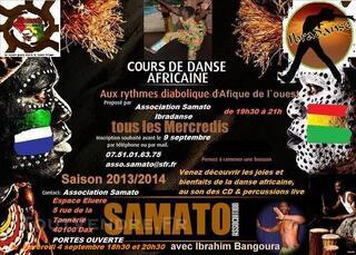 Cours de danse Africaines & Zumb`Afro