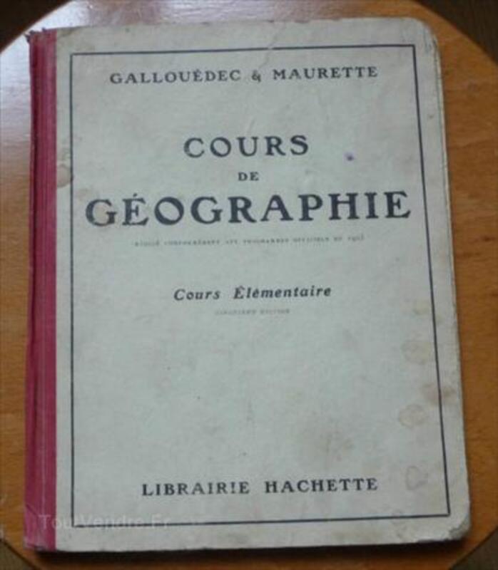 Cours de géographie 1928 56500279