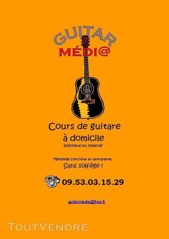 Cours de guitare à domicile, Finistère Nord, Haut-Léon