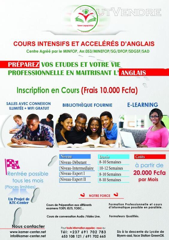 Cours de langue: Anglais et Français 566504570