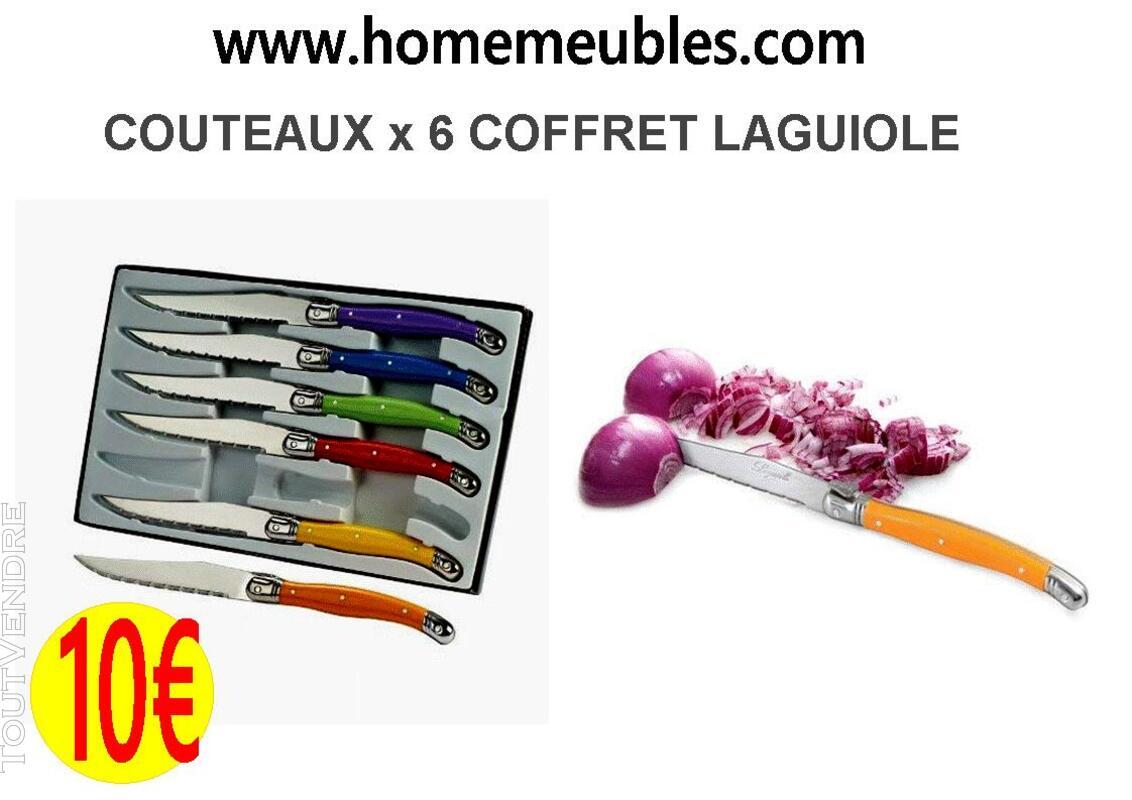 COUTEAUX x 6 COFFRET LAGUIOLE 501073408