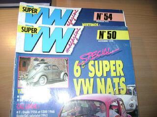 Cox , combi  super vw n° 50 et 54