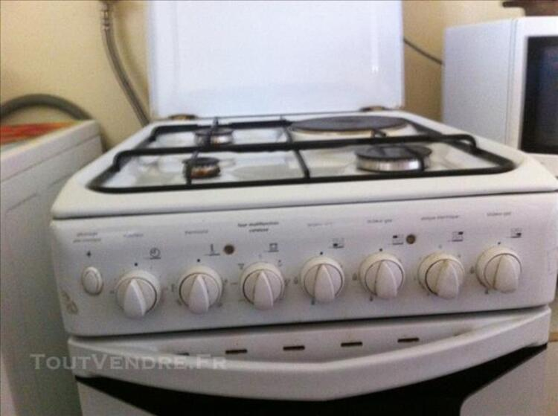 Cuisiniere mixte blanc L=50 indesit 76855768