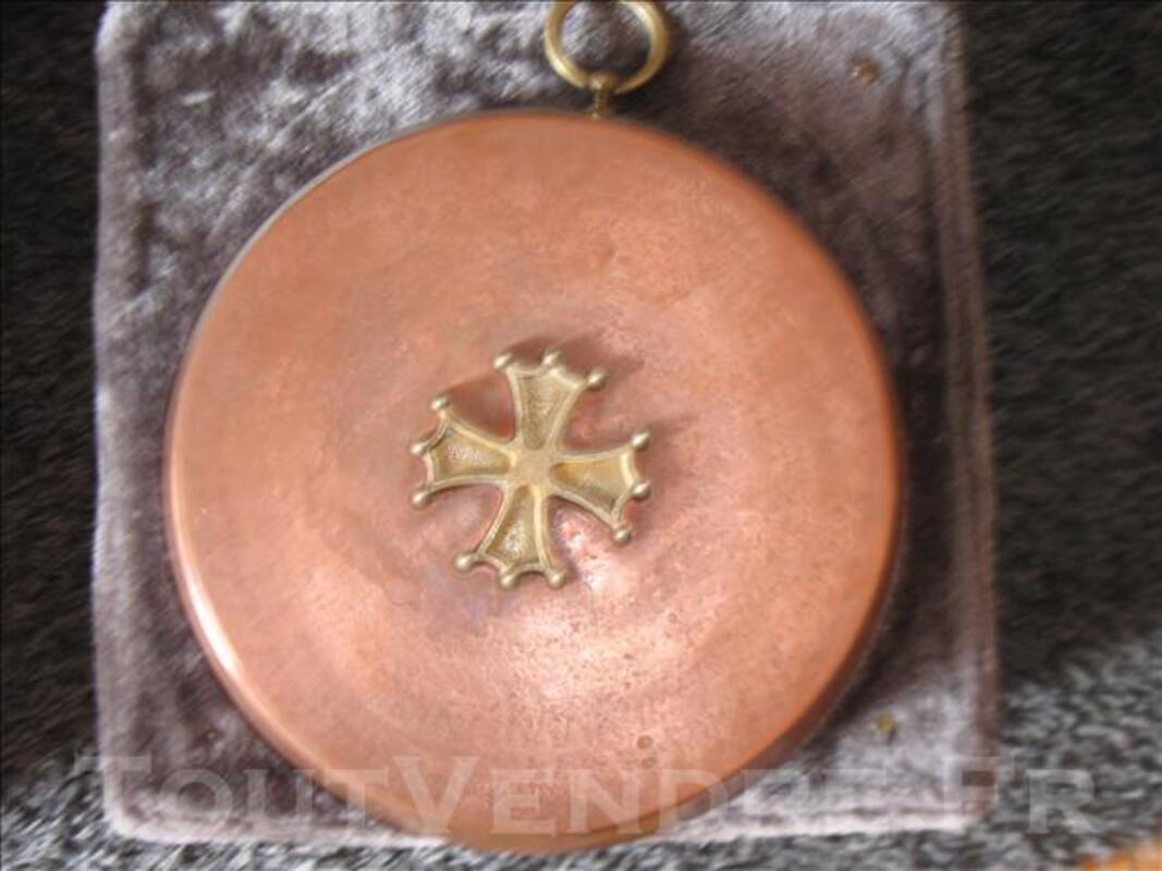 CUIVRE de 30 cm croix occitane 75196666