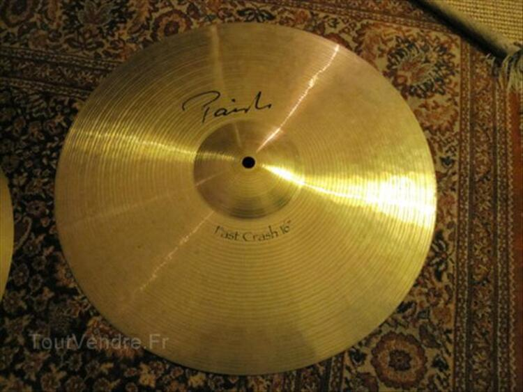 Cymbale PAISTE Signature , fast crash 16 , nickel 56374338
