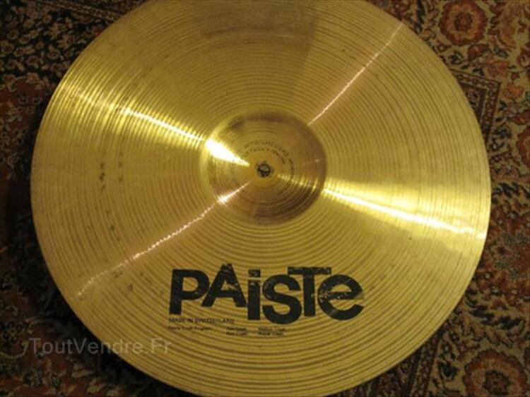 Cymbale PAISTE Signature , fast crash 16 , nickel 56374339