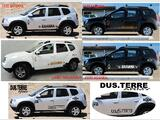 DACIA DUSTER STICKERS ACCESSOIRES