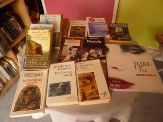 De beaux romans très variés à 3 euros l'un