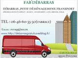 DEBARRAS GRATUITEMENT-PETIT DEMENAGEMENT-TRANSPORT