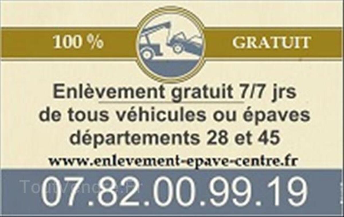 Débarrasse epave 07.82.00.99.19 gratuit 28 - 41 - 45 91245727