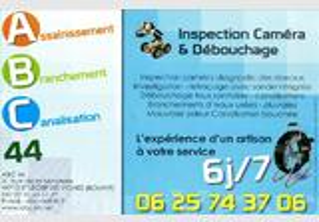 Déboucheur canalisations Nantes - ABC 44 TEL 06 25 74 37 06
