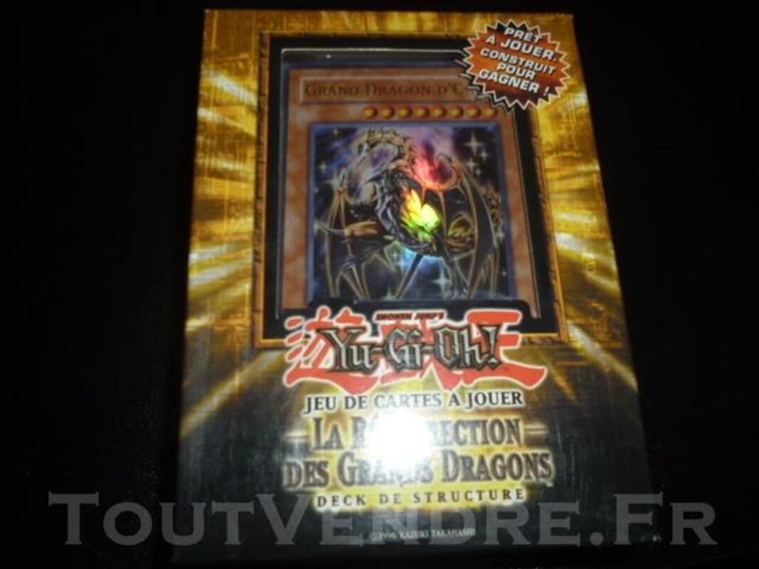 """Deck YuGiOh """"La resurrection des grands dragons"""" 77421018"""