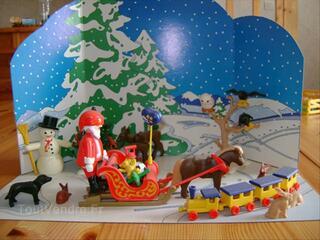 Décor de Noël Playmobil