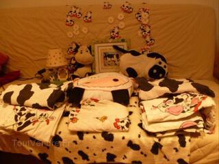 Décoration chambre enfant vache