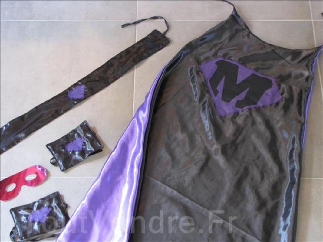Déguisement Super Héros personnalisable violet 95316088