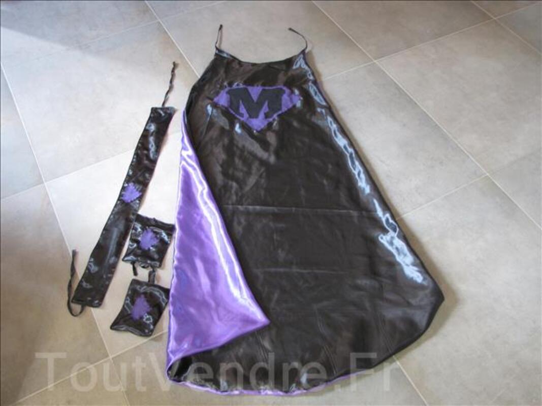Déguisement Super Héros personnalisable violet 95316090