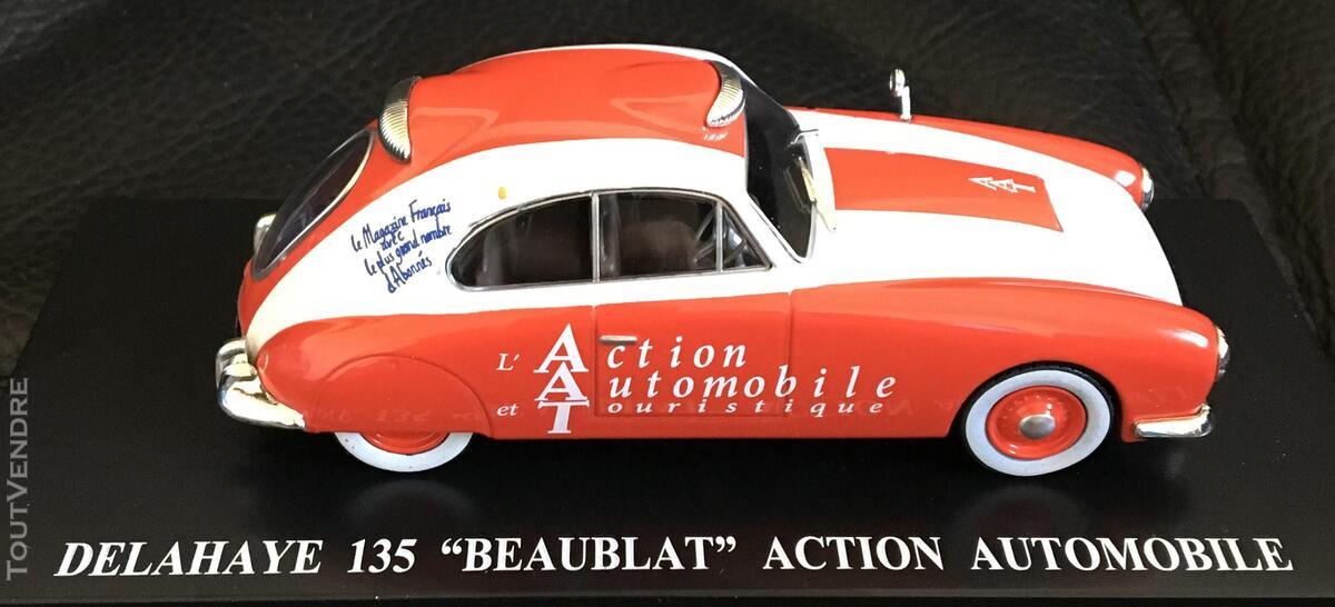 """DELAHAY 135 """"BEAUBLAT"""" Miniature 1/43ème """"ACTION AUTOMOBILE 376566210"""