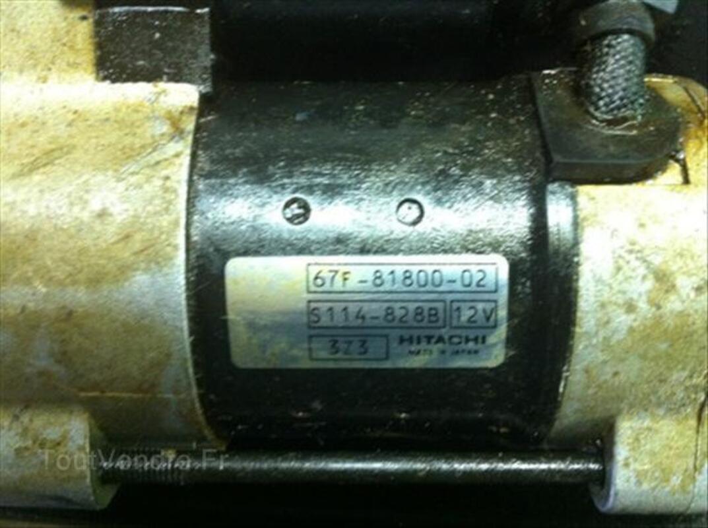 Démarreur pour moteur Yamaha 100 cv 4 tps 66148208
