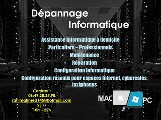 Depannage Informatique à Domicile en Île-de-France