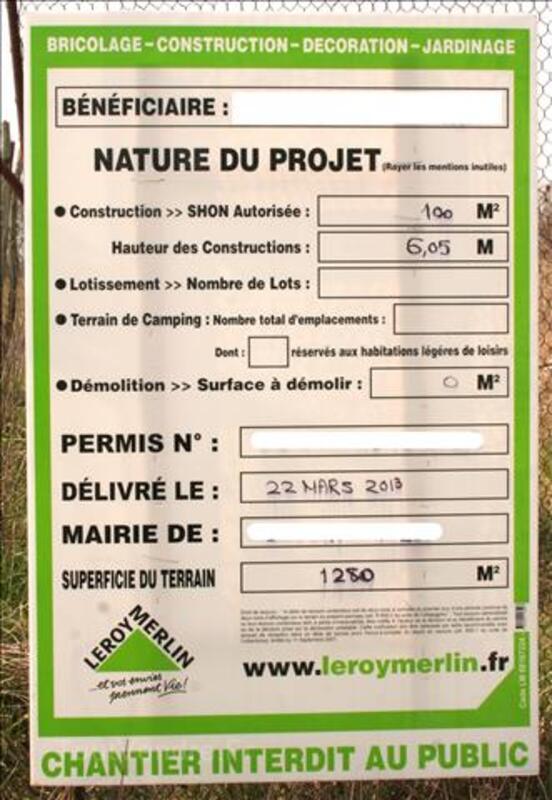 Dépôt de permis de construire - 495€ par dossier 91074521