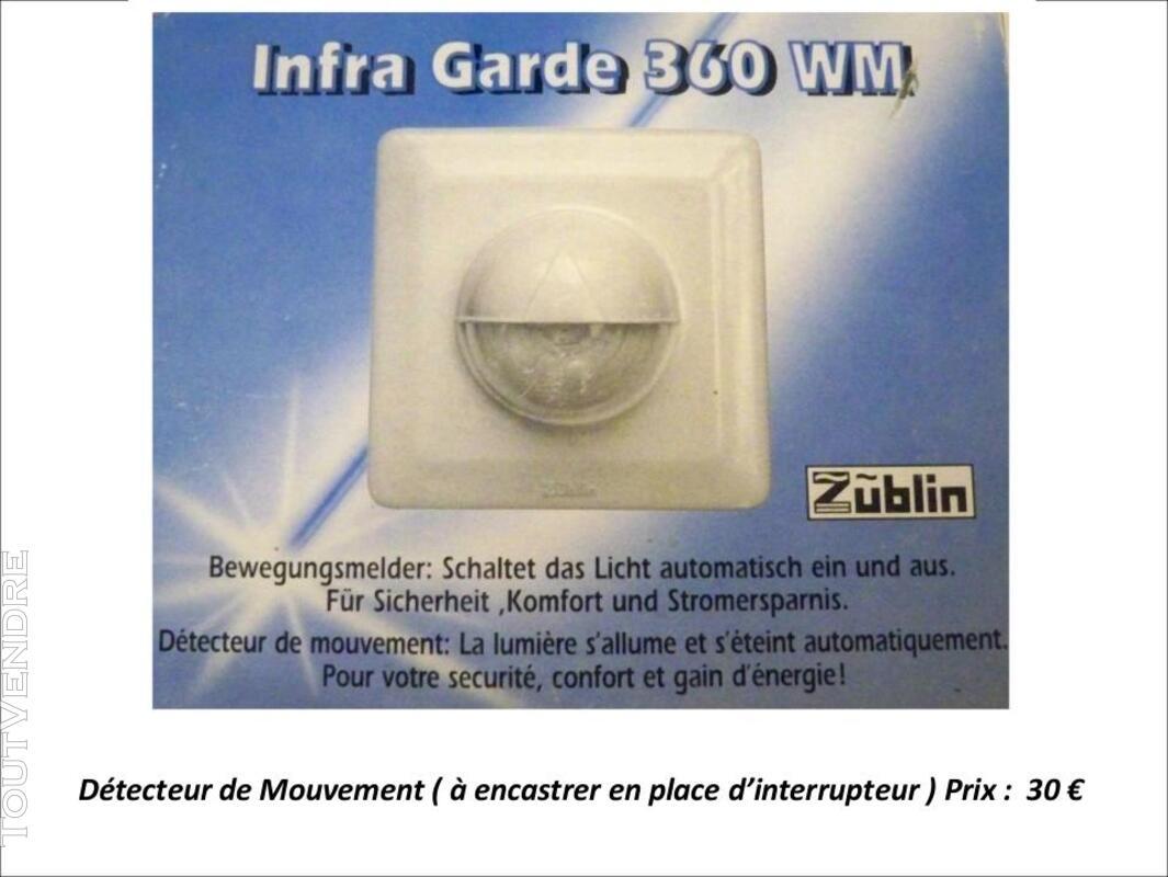 Détecteur de mouvement Saillie 180° Zublin 319693732