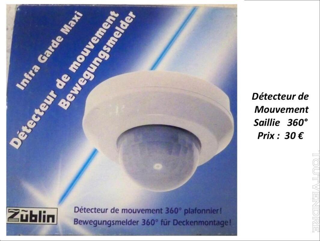 Détecteur de mouvement Saillie 360° Zublin 319693711