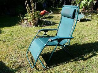 Deux fauteuils relax Lafuma