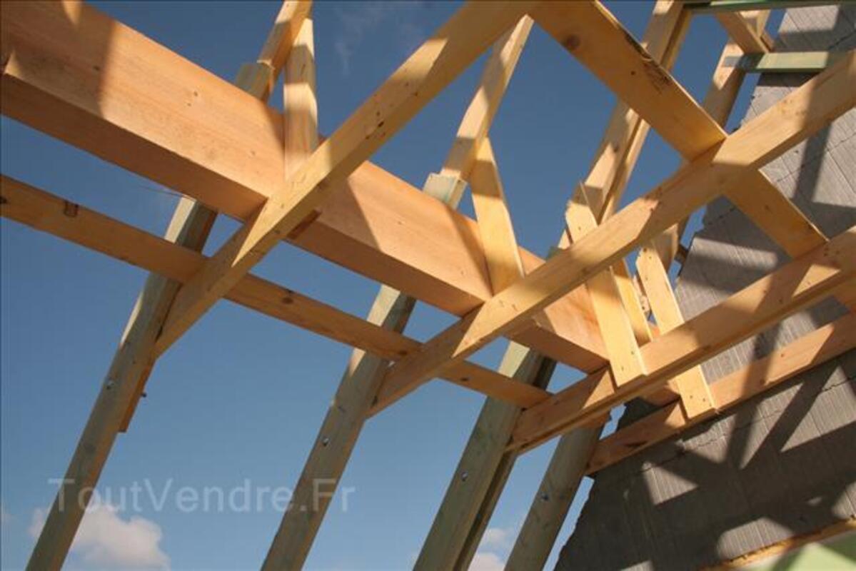 Devis prix de la toiture charpente fermette pour 10€ 91073761