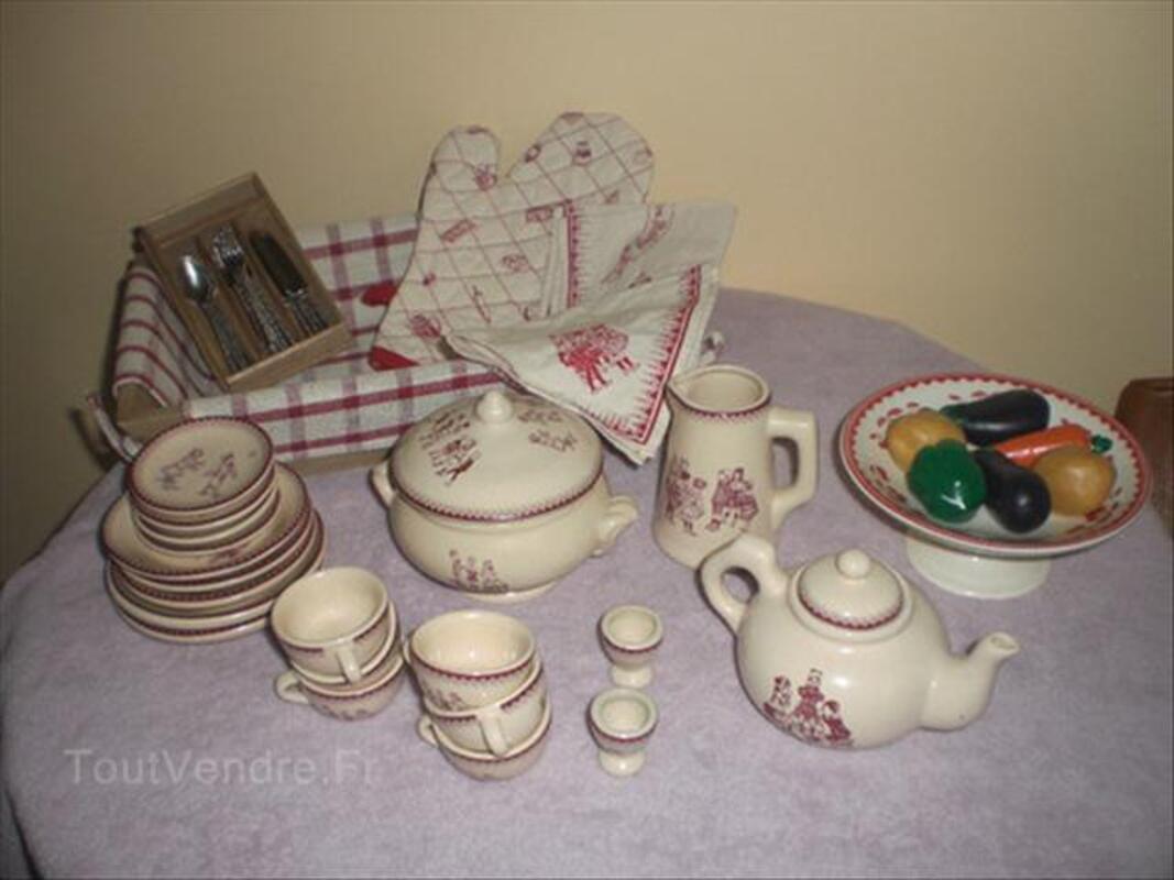 Dinette moulin roty en porcelaine 55987571