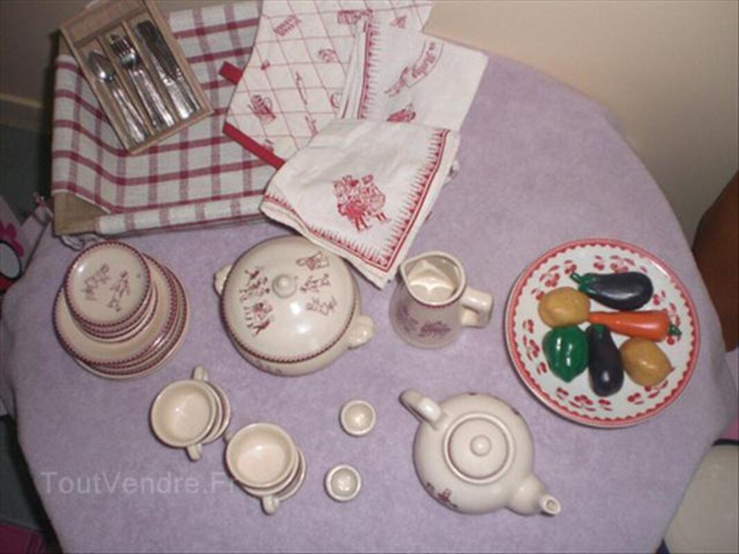 Dinette moulin roty en porcelaine 55987572