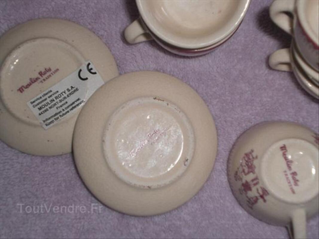 Dinette moulin roty en porcelaine 55987573