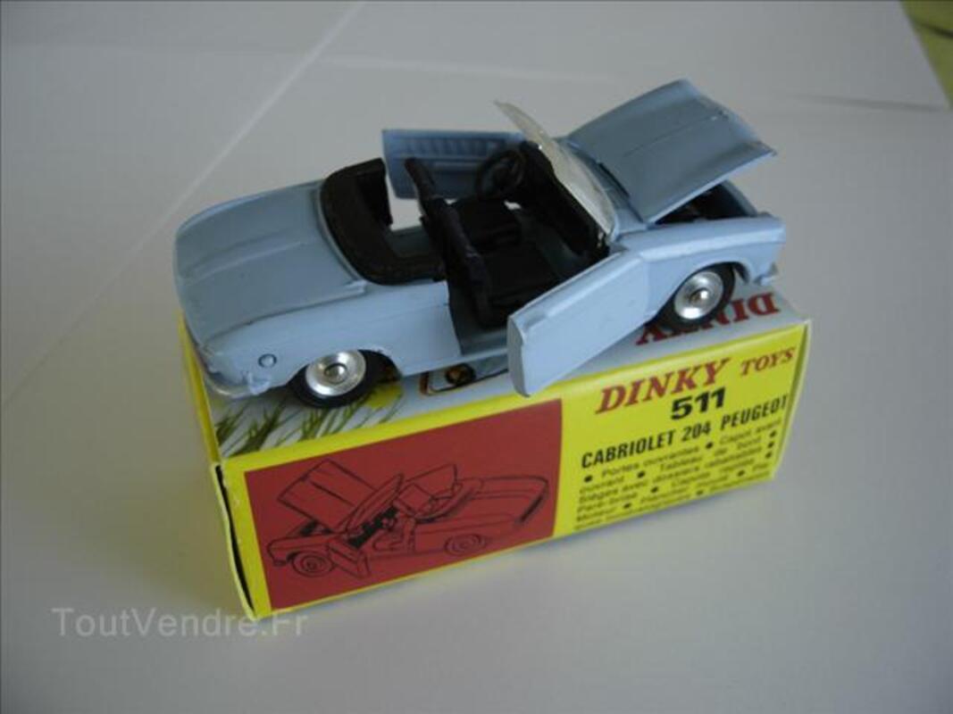 DINKY TOYS  CABRIOLET 204 PEUGEOT 68006371