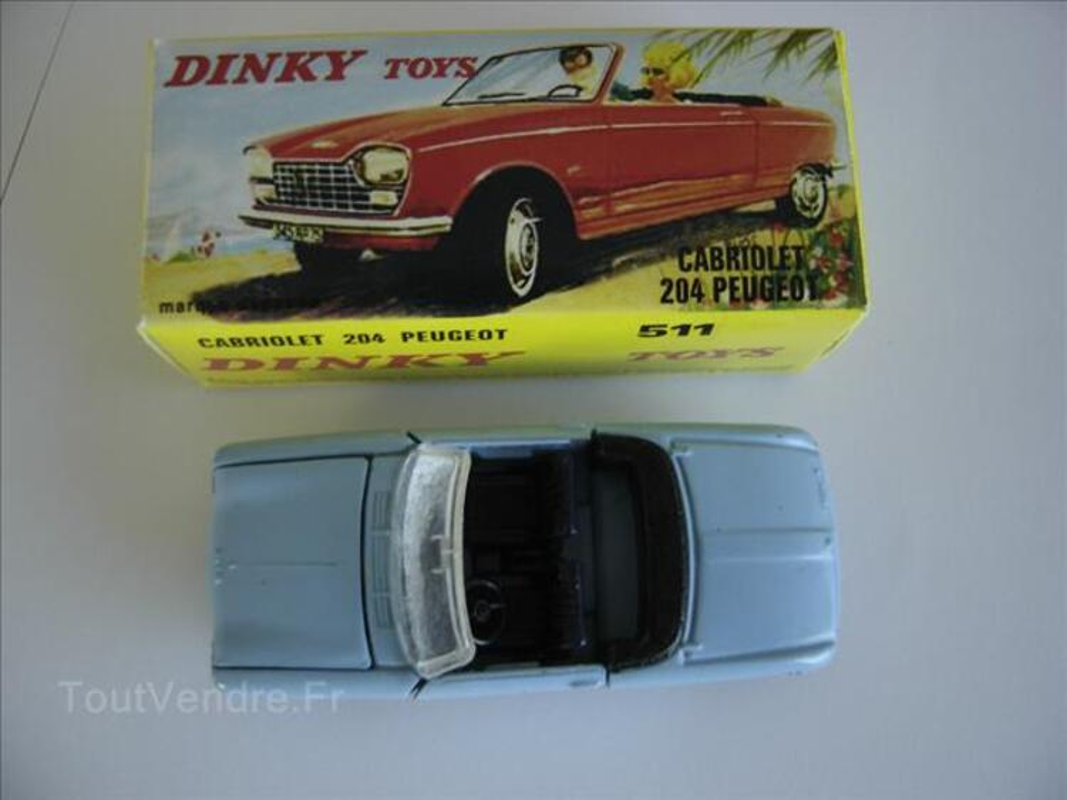 DINKY TOYS  CABRIOLET 204 PEUGEOT 68006372
