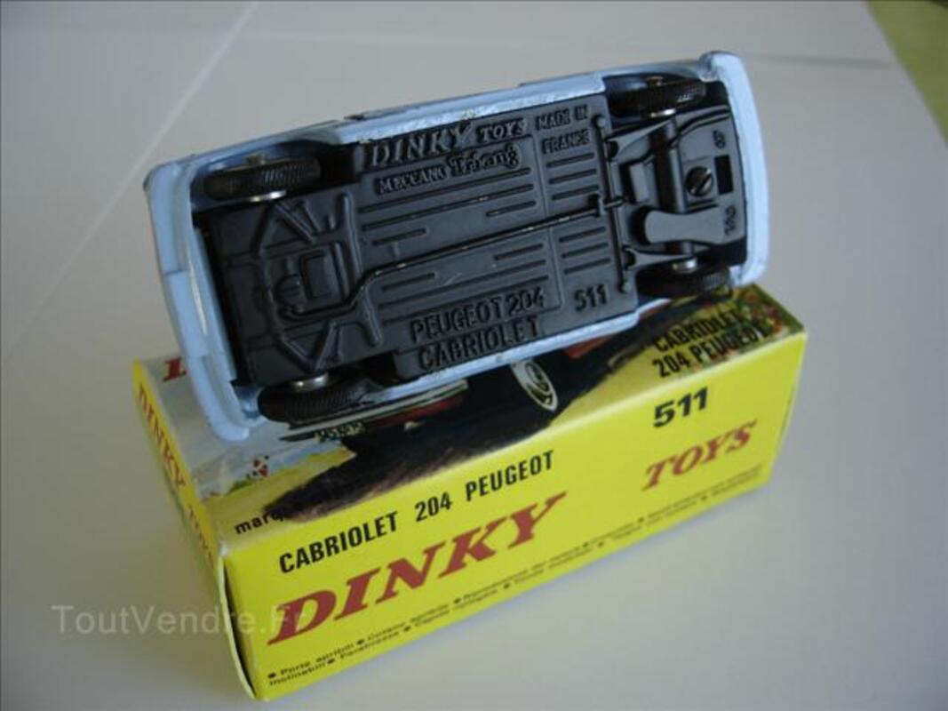 DINKY TOYS  CABRIOLET 204 PEUGEOT 68006373