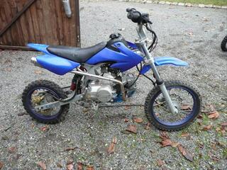 Dirt125cc+pot cross