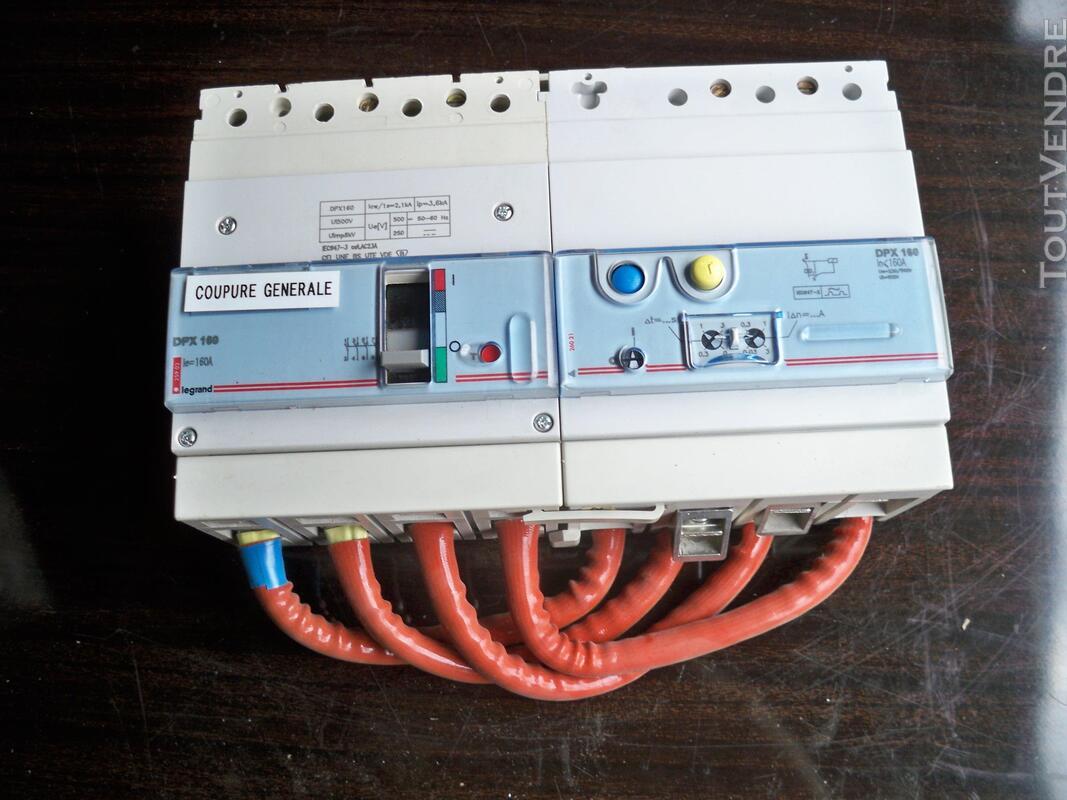 Disjoncteur différentiel 4 x 160 amp. différentiel réglable 319693729