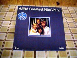 Disque 33 tours en vinyle d'ABBA de 1980
