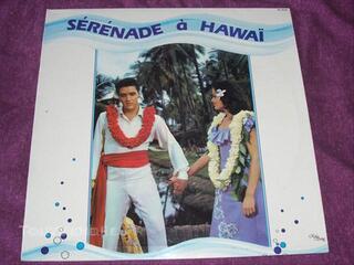 Disque vinyl 33t elvis presley (sérénade à hawai)