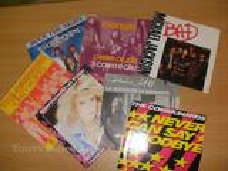 Disque vinyl 45T - Chanteurs divers