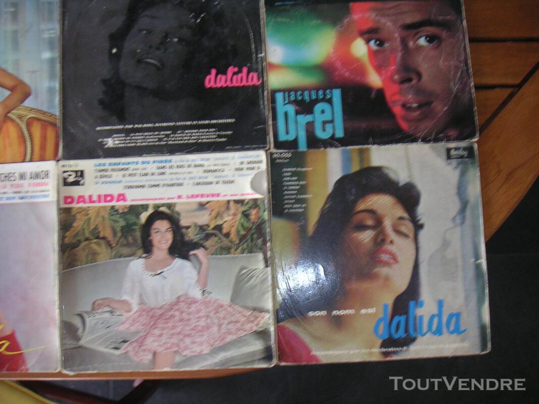 Disques vinyls  classiques , jazz , rock , français , techno 119076324