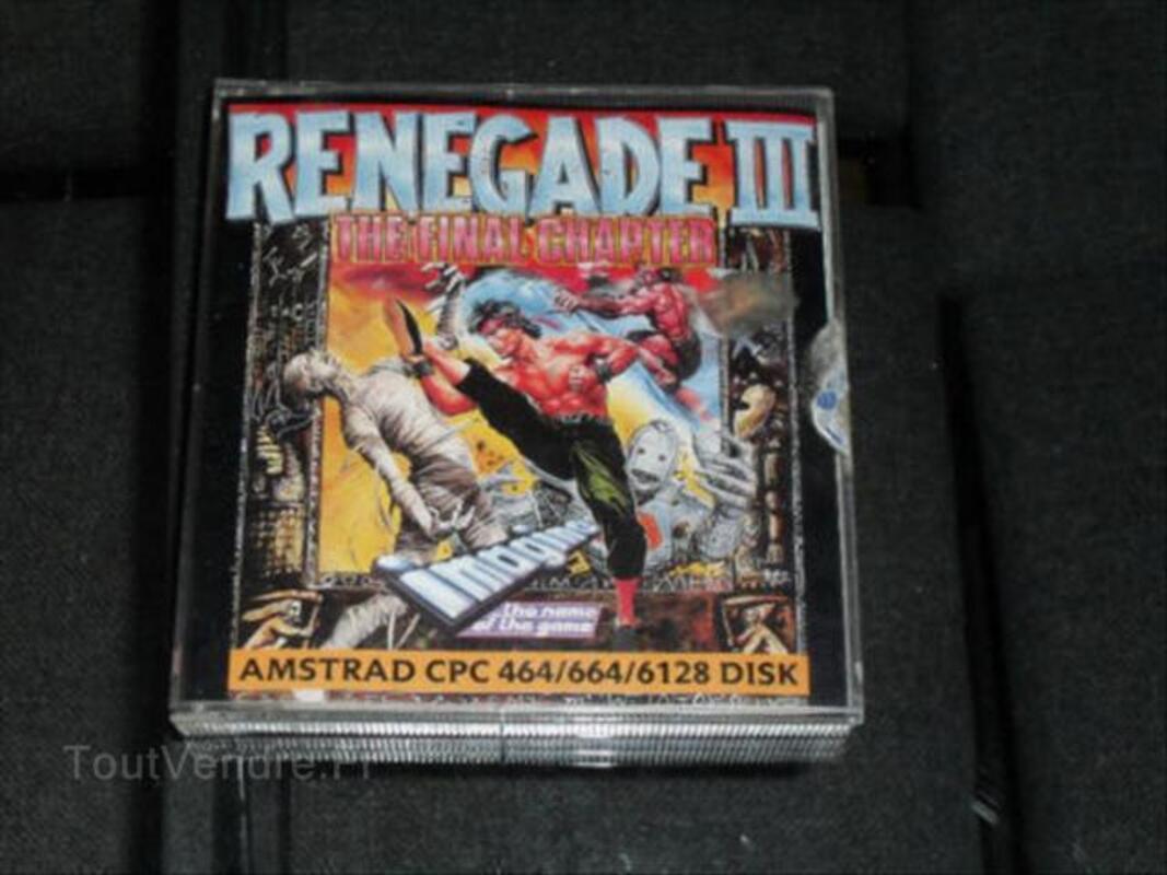 Disquette jeu Renegade 3 pour amstrad pc 6128 64525039