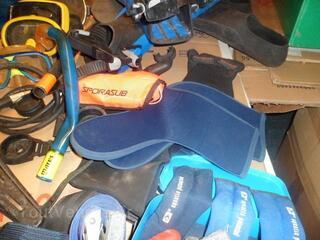 Divers accessoires de plongée