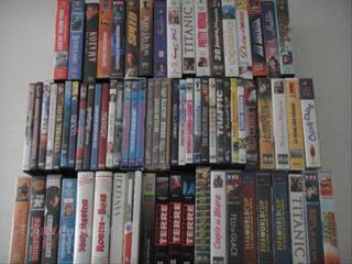 DIVERS DVD ET VHS