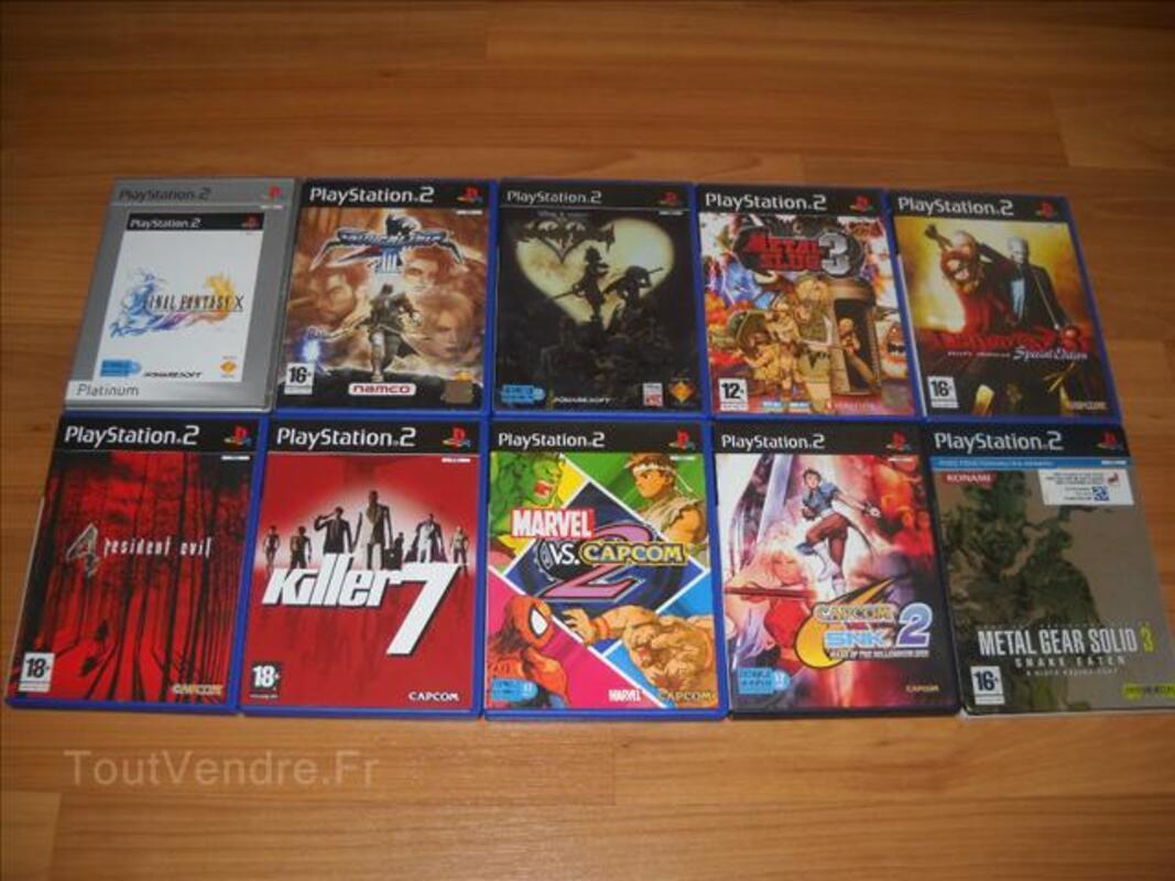 Divers jeux PS2 71318026