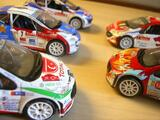Divers Miniatures Peugeot 207 WRC de Rallye éch 1/43