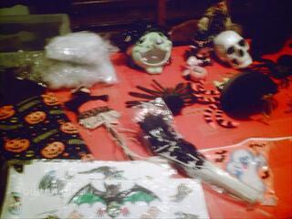 Divers produit et decorations hallowe