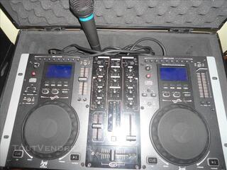 DJ STATION GEMINI CDM 3600