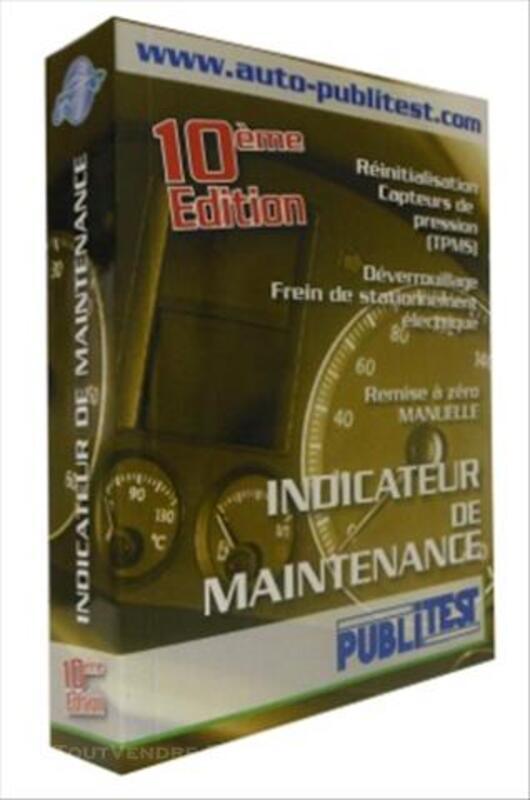 Documentation Reset indicateurs de maintenance 2014 84270497
