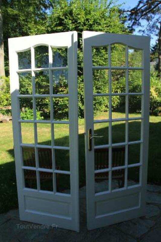 Double porte vitrée pour intérieur 94722136